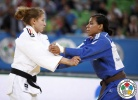 Sappho Coban (GER), Jessica Pereira (BRA) - World Championships Juniors Ljubljana (2013, SLO) - © IJF Media Team, International Judo Federation