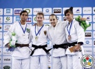 Sappho Coban (GER), Jessica Pereira (BRA), Larisa Florian (AZE), Odette Giuffrida (ITA) - World Championships Juniors Ljubljana (2013, SLO) - © IJF Media Team, International Judo Federation