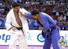 Victor Scvortov (UAE), Lasha Shavdatuashvili (GEO) - Grand Prix Budapest (2014, HUN) - © IJF Media Team, International Judo Federation
