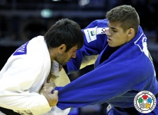 Eduardo Bettoni (BRA), Erkin Doniyorov (UZB) - Grand Prix Düsseldorf (2014, GER) - © IJF Media Team, International Judo Federation