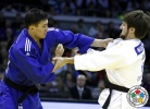 Musa Mogushkov (RUS), Dastan Ykybayev (KAZ) - Grand Prix Düsseldorf (2014, GER) - © IJF Media Team, International Judo Federation