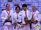 Kyong Sol (PRK), Guusje Steenhuis (NED), Kerstin Teichert (GER), Mami Umeki (JPN) - Grand Prix Qingdao (2014, CHN) - © IJF Media Team, International Judo Federation