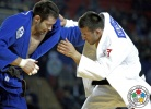 Paata Gviniashvili (GEO), Kirill Denisov (RUS) - Grand Prix Tbilisi (2014, GEO) - © IJF Media Team, International Judo Federation