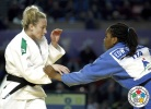 Hannah Martin (USA), Edwige Gwend (ITA) - Grand Prix Tbilisi (2014, GEO) - © IJF Media Team, International Judo Federation