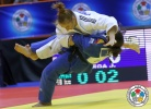 Monica Ungureanu (ROU), Julia Figueroa (ESP) - Grand Prix Zagreb (2014, CRO) - © IJF Media Team, IJF