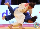 Majlinda Kelmendi (KOS), Andreea Chitu (ROU) - Grand Slam Abu Dhabi (2014, UAE) - © IJF Media Team, International Judo Federation