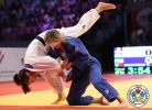 Telma Monteiro (POR), Laëtitia Blot (FRA) - Grand Slam Abu Dhabi (2014, UAE) - © IJF Media Team, International Judo Federation