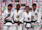 Dex Elmont (NED), Musa Mogushkov (RUS), Rok Draksic (SLO), Rustam Orujov (AZE) - Grand Slam Abu Dhabi (2014, UAE) - © IJF Media Team, International Judo Federation