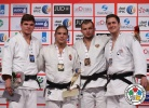 Krisztian Toth (HUN), Noël Van 't End (NED), Kirill Voprosov (RUS), Ciril Grossklaus (SUI) - Grand Slam Abu Dhabi (2014, UAE) - © IJF Media Team, International Judo Federation