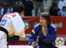 Amelie Rosseneu (ISR) - Grand Slam Baku (2014, AZE) - © IJF Media Team, IJF