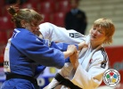 Vlora Bedeti (SLO), Sabrina Filzmoser (AUT) - Grand Slam Baku (2014, AZE) - © IJF Media Team, International Judo Federation