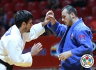 Alan Khubetsov (RUS), Ushangi Margiani (GEO) - Grand Slam Baku (2014, AZE) - © IJF Media Team, International Judo Federation