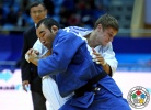 Vadzim Shoka (BLR), Nyam-Ochir Sainjargal (MGL) - Grand Prix Astana (2014, KAZ) - © IJF Media Team, International Judo Federation
