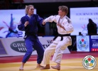 Sabrina Filzmoser (AUT), Automne Pavia (FRA) - Grand Slam Paris (2014, FRA) - © IJF Media Team, International Judo Federation