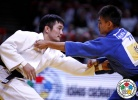 Ming Yen Tsai (TPE), Kherlen Ganbold (MGL) - Grand Slam Paris (2014, FRA) - © IJF Media Team, International Judo Federation