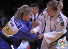 Telma Monteiro (POR), Automne Pavia (FRA) - Grand Slam Paris (2014, FRA) - © IJF Media Team, International Judo Federation