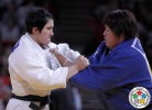 Lucija Polavder (SLO), Kanae Yamabe (JPN) - Grand Slam Paris (2014, FRA) - © IJF Media Team, International Judo Federation