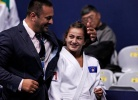 Driton Kuka (KOS), Majlinda Kelmendi (KOS),  JUDO FOR ALL (IJF) - World Championships Rio de Janeiro (2013, BRA) - © IJF Media Team, International Judo Federation