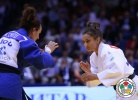 Andreea Chitu (ROU), Majlinda Kelmendi (KOS) - World Championships Chelyabinsk (2014, RUS) - © IJF Media Team, International Judo Federation