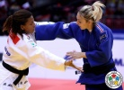 Automne Pavia (FRA), Rafaela Silva (BRA) - World Championships Chelyabinsk (2014, RUS) - © IJF Media Team, International Judo Federation