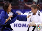 Sanne Verhagen (NED), Sumiya Dorjsuren (MGL) - World Championships Chelyabinsk (2014, RUS) - © IJF Media Team, International Judo Federation