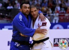 Ilias Iliadis (GRE), Krisztian Toth (HUN),  RESPECT (IJF),  HONOUR (IJF) - World Championships Chelyabinsk (2014, RUS) - © IJF Media Team, International Judo Federation