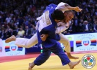 Kathrin Frey (SUI), Tagir Khaibulaev (RUS) - World Championships Chelyabinsk (2014, RUS) - © IJF Media Team, International Judo Federation