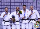 Ilias Iliadis (GRE), Krisztian Toth (HUN), Varlam Liparteliani (GEO), Kirill Voprosov (RUS) - World Championships Chelyabinsk (2014, RUS) - © IJF Media Team, International Judo Federation