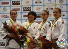 Dilara Lokmanhekim (TUR), Ami Kondo (JPN), Patrycia Szekely (GER), Alexandra Pop (ROU) - World Championships Juniors Fort Lauderdale (2014, USA) - © IJF Media Team, International Judo Federation