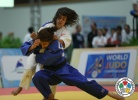 Olfa Saoudi (TUN), Catarina Costa (POR) - World Championships Juniors Fort Lauderdale (2014, USA) - © IJF Media Team, International Judo Federation