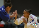 Amandine Buchard (FRA), Larisa Florian (AZE) - World Championships Juniors Fort Lauderdale (2014, USA) - © IJF Media Team, International Judo Federation