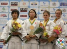 Miho Minei (JPN), Nami Nabekura (JPN), Vivian Herrmann (GER), Jemima Yeats-Brown (GBR) - World Championships Juniors Fort Lauderdale (2014, USA) - © IJF Media Team, International Judo Federation
