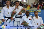 Ahmed Abelrahman (EGY), Kamel Haroune (ALG), Nayr Pedro (ANG), Fraj Dhouibi (TUN) - African Games Brazzaville (2015, CGO) - © African Judo Union
