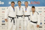 James Austin (GBR), Andrew Melbourne (GBR), Peter Vincent (GBR), Valentino Volante (GBR) - British Championships Sheffield (2015, GBR) - © Mike Varey - Elitepix, British Judo Association