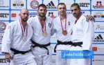 Domenico Di Guida (ITA), Vincent Massimino (FRA), Walter Facente (ITA), Gergö Fogasy (HUN) - European Cup Belgrade (2015, SRB) - © JudoInside.com, judo news, results and photos