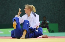 Kim Polling (NED) - European Games Baku (2015, AZE) - © Emir Incegul, Turkish Judo Federation