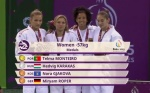 Telma Monteiro (POR) - European Games Baku (2015, AZE) - © TV footage