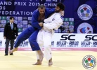 Ramin Gurbanov (AZE), Kirill Voprosov (RUS) - Grand Prix Qingdao (2015, CHN) - © IJF Media Team, International Judo Federation
