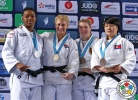Kayla Harrison (USA), Audrey Tcheumeo (FRA), Kyong Sol (PRK), Kerstin Teichert (GER) - Grand Prix Tbilisi (2015, GEO) - © IJF Media Team, International Judo Federation