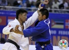 Tumurkhuleg Davaadorj (MGL), Hifumi Abe (JPN) - Grand Prix Ulaanbaatar (2015, MGL) - © IJF Media Team, International Judo Federation