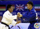 Gusman Kyrgyzbayev (KAZ), Kherlen Ganbold (MGL) - Grand Prix Ulaanbaatar (2015, MGL) - © IJF Media Team, International Judo Federation