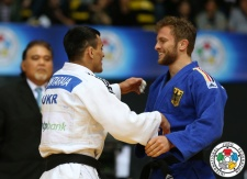 Georgii Zantaraia (UKR), Sebastian Seidl (GER) - Grand Prix Zagreb (2015, CRO) - © IJF Media Team, International Judo Federation