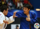 Kherlen Ganbold (MGL), Phelipe Pelim (BRA) - Grand Prix Zagreb (2015, CRO) - © IJF Media Team, International Judo Federation