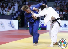 Kelita Zupancic (CAN) - Grand Slam Abu Dhabi (2015, UAE) - © IJF Media Team, International Judo Federation