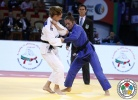 Mareen Kraeh (GER), Majlinda Kelmendi (KOS) - Grand Slam Abu Dhabi (2015, UAE) - © IJF Media Team, International Judo Federation