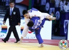 Tsogtbaatar Tsend-Ochir (MGL), Amiran Papinashvili (GEO) - Grand Slam Abu Dhabi (2015, UAE) - © IJF Media Team, International Judo Federation