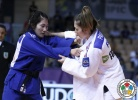Automne Pavia (FRA), JanDi Kim (KOR) - Grand Slam Abu Dhabi (2015, UAE) - © IJF Media Team, International Judo Federation