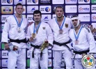 Tagir Khaibulaev (RUS), Lukas Krpálek (CZE), Karl-Richard Frey (GER), Toma Nikiforov (BEL) - Grand Slam Abu Dhabi (2015, UAE) - © IJF Media Team, International Judo Federation