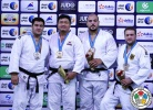 SungMin Kim (KOR), Iakiv Khammo (UKR), Andre Breitbarth (GER), Faicel Jaballah (TUN) - Grand Slam Abu Dhabi (2015, UAE) - © IJF Media Team, International Judo Federation