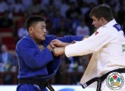 Otgonbaatar Lkhagvasuren (MGL), Noël Van 't End (NED) - Grand Slam Abu Dhabi (2015, UAE) - © IJF Media Team, International Judo Federation